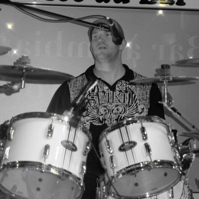 Cedric on drums