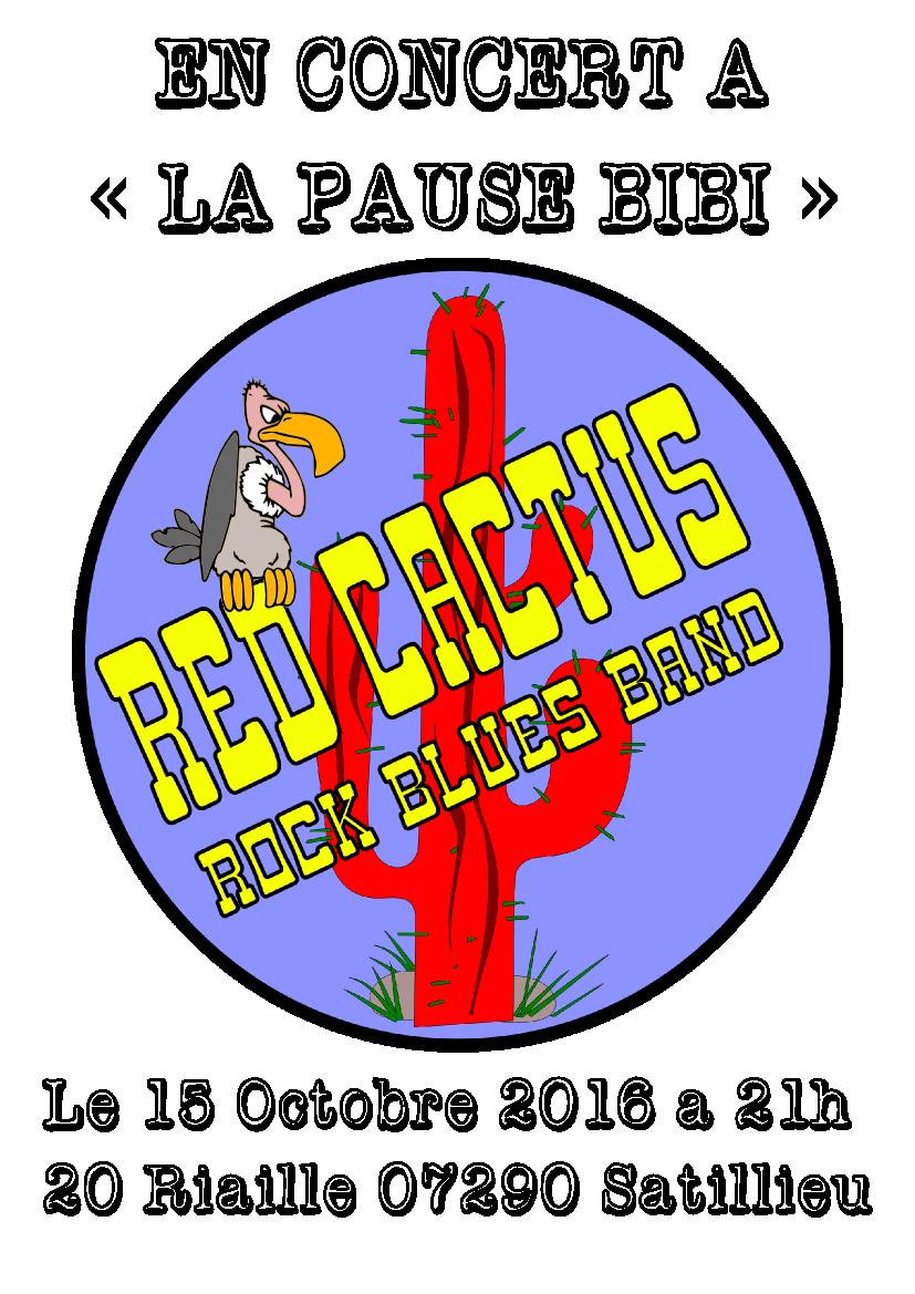 Affiche red cactus